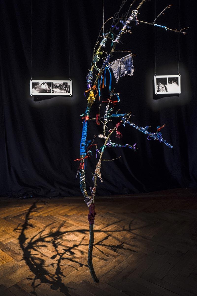 Wish Tree 2017, gözde mimiko türkkan, Centre Intermondes, La Rochelle, France