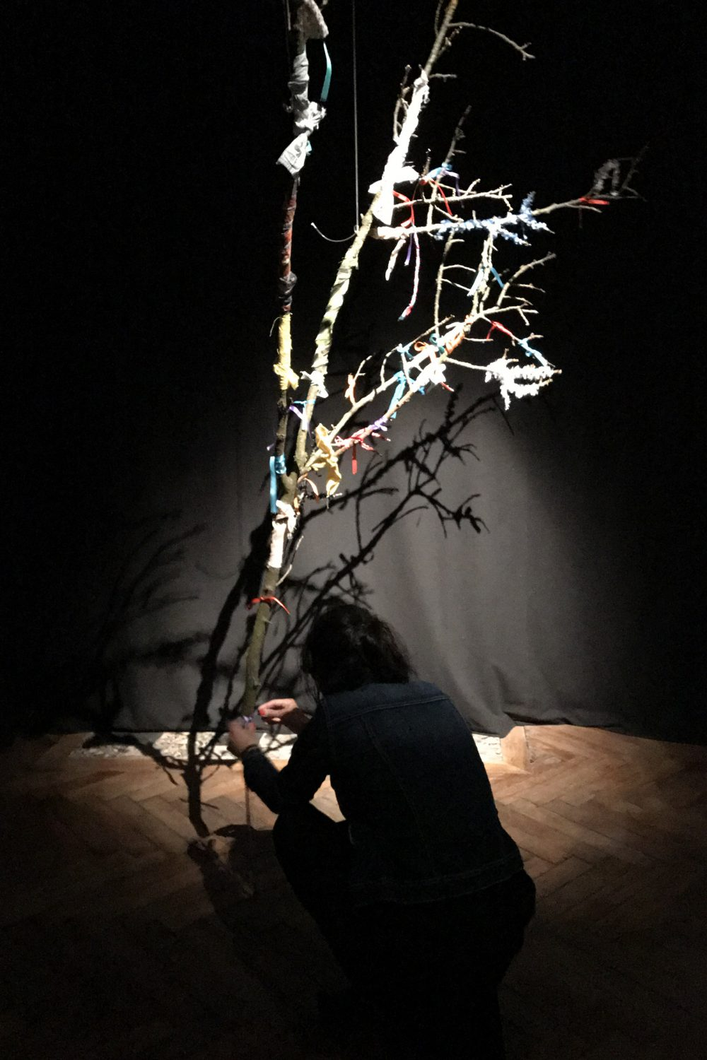 Wish Tree 2017, gözde mimiko türkkan, Centre Intermondes, La Rochelle, France