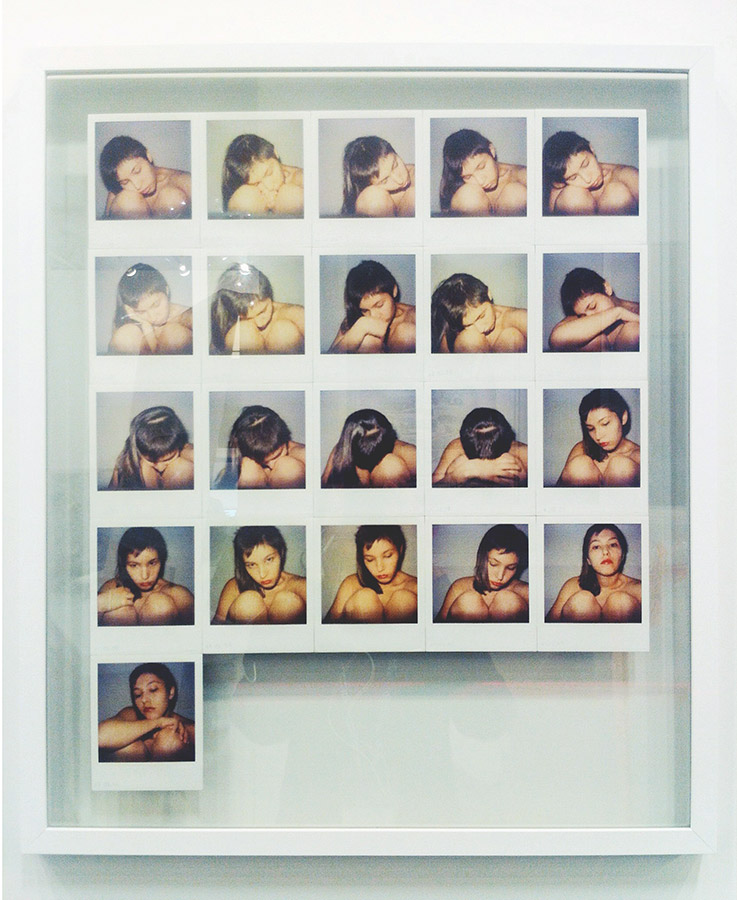 21 self-portrait polaroid at Contemporary Istanbul